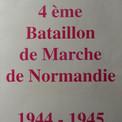 Page de couverture de l'album mémoriel du 4e B.M.N.