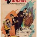 """Août 1959 : """"Cœurs Vaillants"""" annonce la suite des aventures. Ce sera """"Le Trompettiste du Strasbourg-Paris""""."""