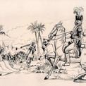 …ou l'époque moderne : ici, Toussaint-Louverture.