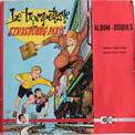 La pochette du livre-album 33 T reprend la couverture de l'album dessinée par Pierre.