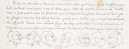 "Extrait de ""Essai de physiognomonie"", Töpffer"