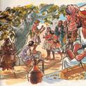 """Un scénario de François-Marie Pons, """"Samuel et Jésus"""", imagine l'enfance du Christ à Nazareth, village de Galilée."""