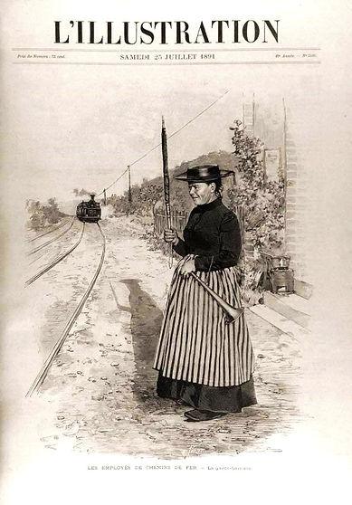 """""""L'Illustration"""" (photographie de presse, 1891)"""