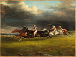 """""""Course de chevaux"""" dite """"Le Derby de 1821 à Epsom"""""""