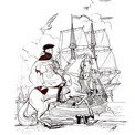 Parvenu trop tard à Saint-Malo, Saint-Clair ne peut empêcher les trafiquants de prendre le large.