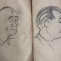 Pierre caricature ses camarades