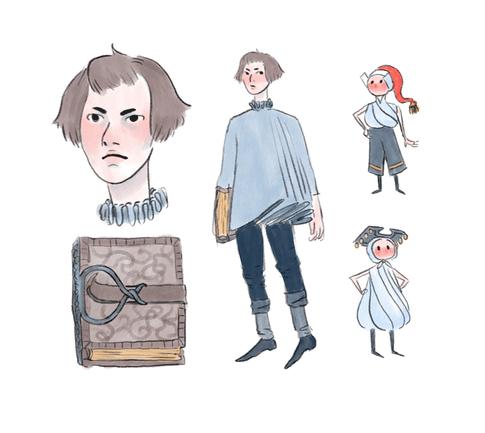 GIF animation character design