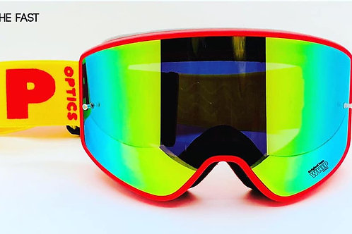 Fast 2.0 Red Fluo+Clear lens included