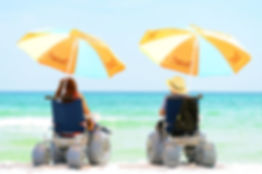 Holiday rental for disabled and able bodied people