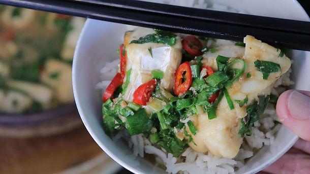 """Braised fish in claypot """"taucheo hu"""""""