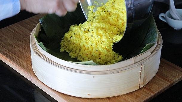 Yellow Sticky Rice   Nasi Kunyit