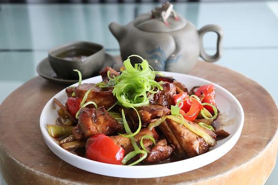 Sichuan Spicy Chicken