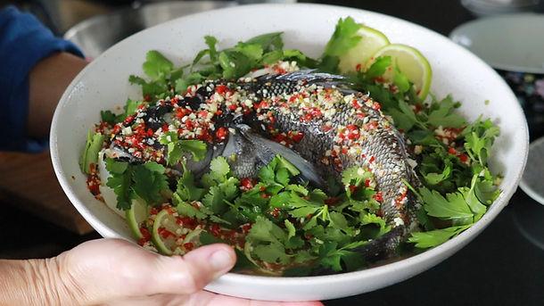 Thai Steamed Fish