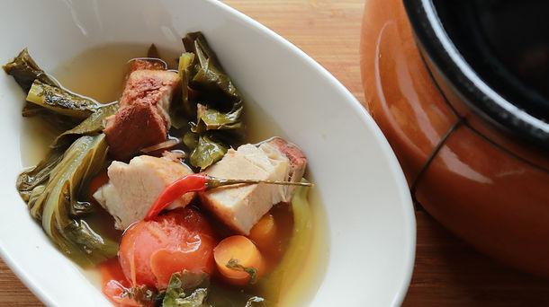 Roast Pork and Mustard Green Stew | Chai Boey