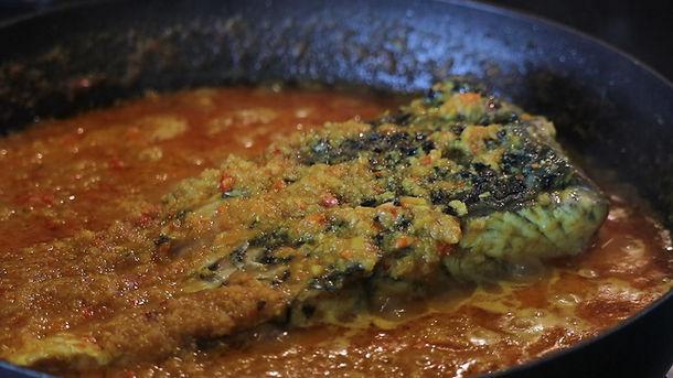 """Fish Curry """"Gulai Tumis Hu"""""""
