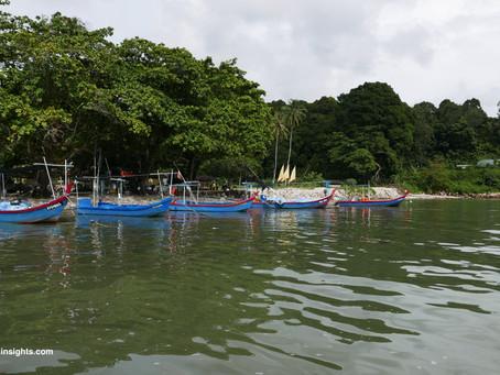 Boat trip to Pulau Kendi