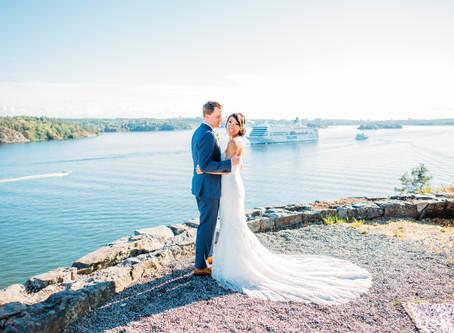 Bröllopsfilmning på Högberga Gård på Lidingö den 5/8 2018