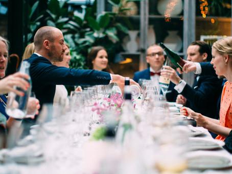 Bröllopsmiddag på fantastiska Ett Hem