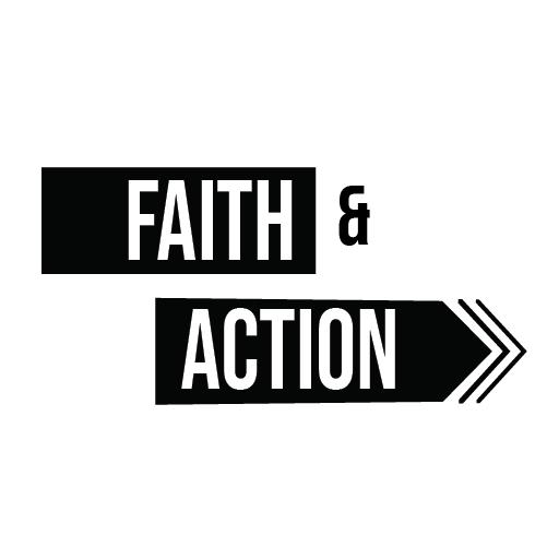 Faith and Action Podcast Logo