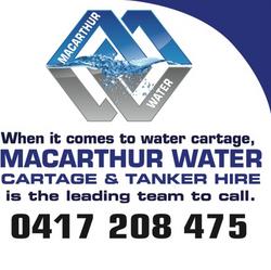 Macarthur Water Cartage Sydney