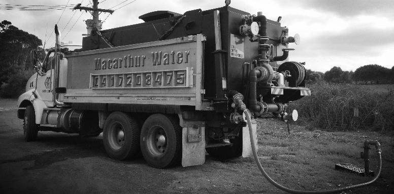 Macarthur Water Cartage