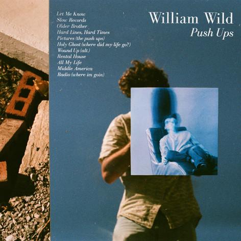 William Wild - 'PUSH UPS' album cover