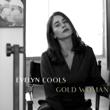 EVELYN COOLS - GOLD WOMAN SINGLE_COVER