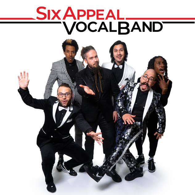 Six Appeal Press Photo with banner