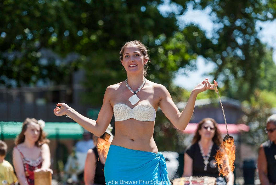 Magnolia Summerfest Fire Poi