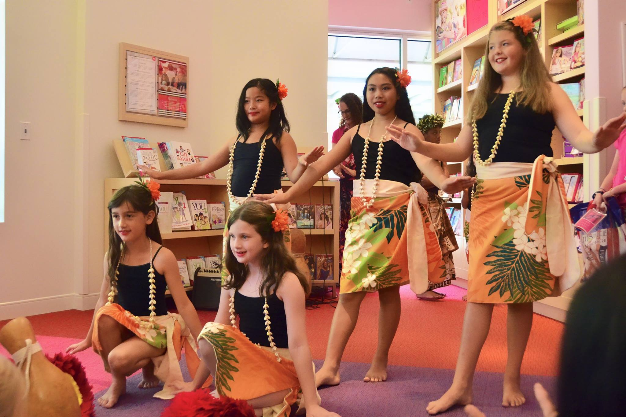 American Girl Store performance b