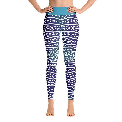 Whaleshark Yoga Leggings