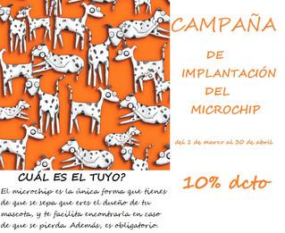 CAMPAÑA DE IMPLANTACIÓN DEL MICROCHIP