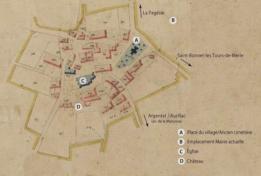 CADASTRE 1834 BOURG avec annotations.jpg