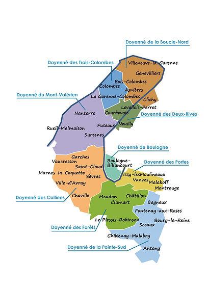 plan diocèse de Nanterre