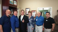 State Senator Joel Anderson Visit