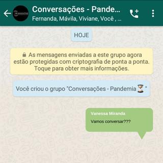Conversações em tempos de pandemia (Parte I)