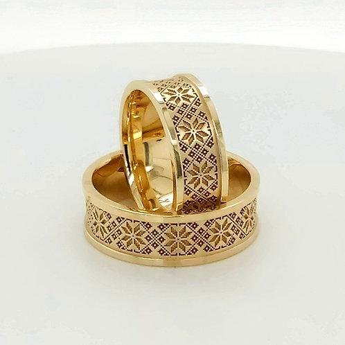Altın Alyans İnce Detay İşçilik