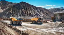Mining expo in San Juan, Argentina