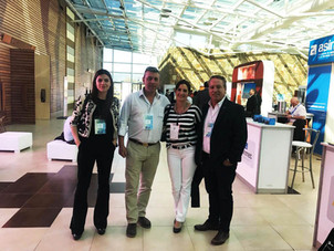 Almar representatives travel to Salta for the Argentina Mining 2018 Edition