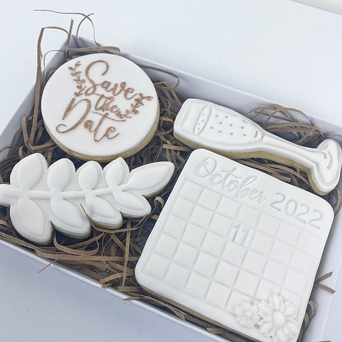 Save the Date Cookie Box
