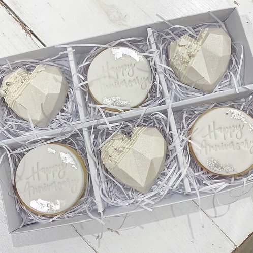 Cake Heart & Cookie Box (postage available)