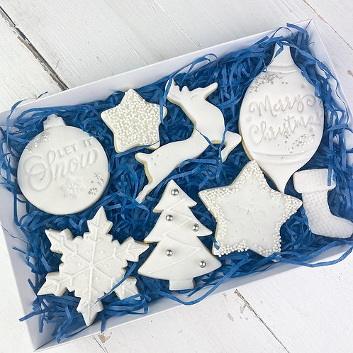 Let It Snow Cookie Box