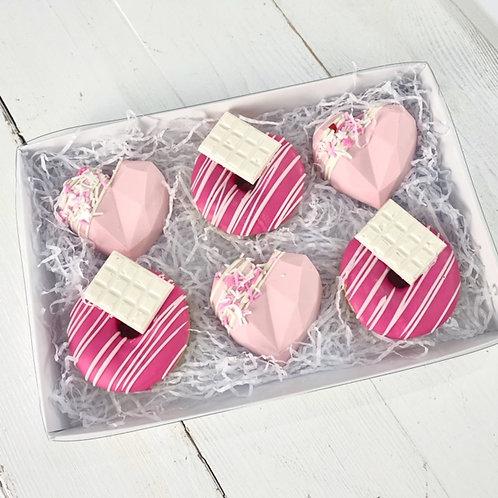 Cake Heart & Donut Box