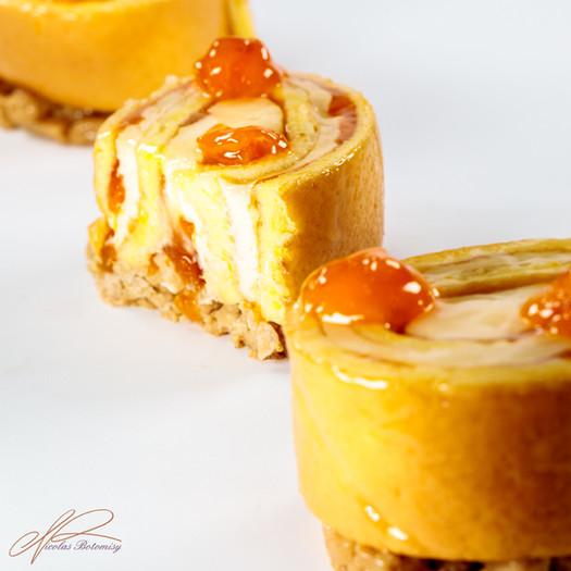 apricot rolled cake cut.jpg