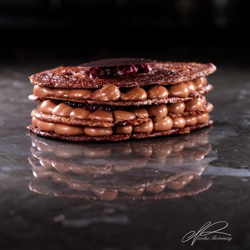 chocolate morello cherry arlette millefe