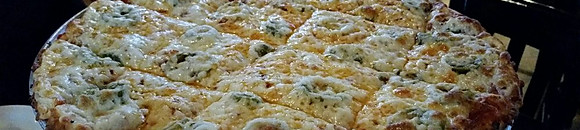 """Challengers' Thin Crust Pizza (Small 12"""" ~ Large 14"""")"""