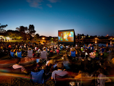 A year living social trends: Outdoor Cinema