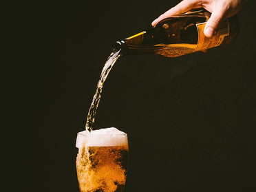 Experiments with beer and a bit of science