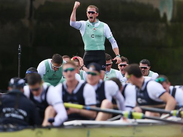 The 2016 Boat Race on social