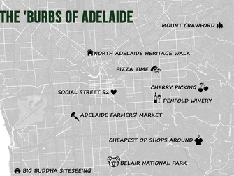 Travel like a local through the suburbs of Adelaide